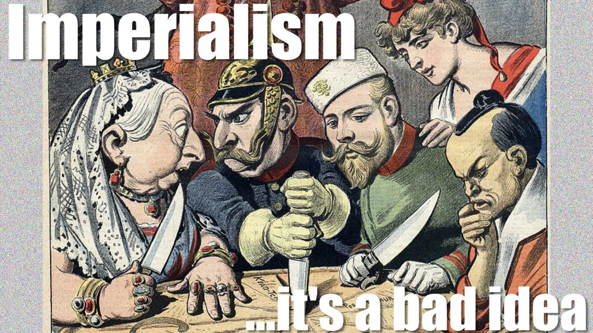 old imperialism vs. new imperialism essay The new atheists have gained traction because they give intellectual cover to western imperialism  new atheism, old empire  the ways in which the new.