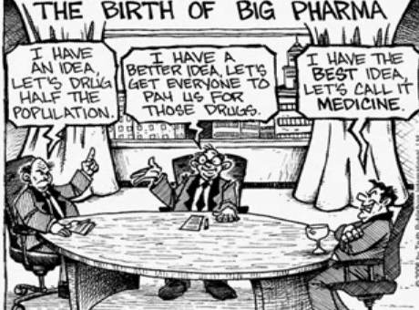 why big pharma gets a bad rap for doing what everyone else does